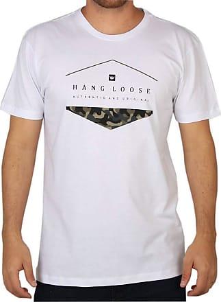 Hang Loose Camiseta Hang Loose Silk Camo Branca