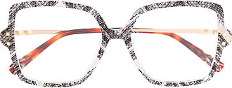 Missoni Armação de óculos oversized - Cinza