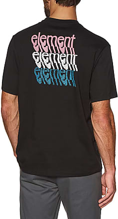 Element Stiles Ss Short Sleeve T-Shirt Medium Flint Black