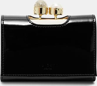 Ted Baker Leather Bobble Purse in Black CATTRIN, Womens Accessories