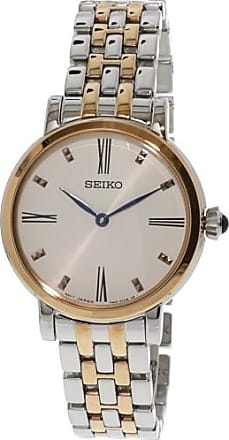 Seiko Womens SFQ816 Silver Stainless-Steel Japanese Quartz Dress Watch