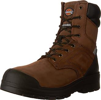 Dickies Mens Dickies Overtime 8 CSA Work Boot, Brown, 9.5 EE US