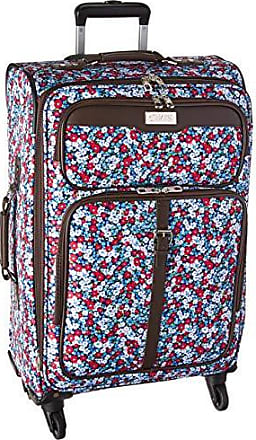 Chaps 24 Expandable Spinner Luggage Pink, Poppy