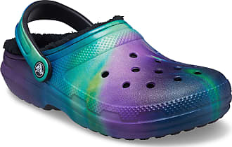 Crocs Unisex-Adult Mens and Womens Classic Marbled Tie Dye Clog Slip on Water Shoes