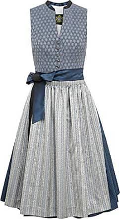 5564348a6a0855 Hammerschmid Damen Trachten-Mode Midi Dirndl Altmühlsee in Blau traditionell,  Größe:48,