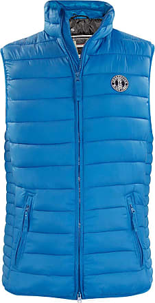 Crosshatch Mens Boxhill Showerproof Gilet - Mykonos Blue - Small