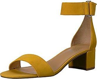 Franco Sarto Womens Rosalina Heeled Sandal, Summer Yellow, 6 W US