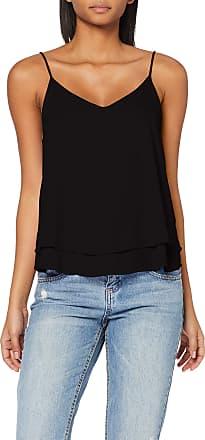 Pieces Womens Pcbodil Slip Top Noos Vest, Black (Black Black), 12 (Size: Medium)