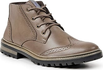 Polo State Bota Dress Boot Masculina Polo State Sabertooth (40, Marrom Claro)