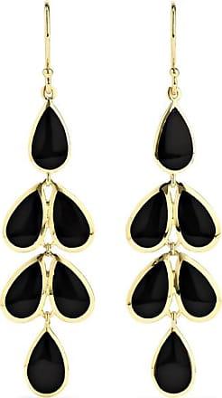 Ippolita Polished Rock Candy 18-karat Gold Onyx Earrings