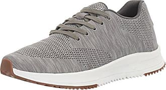 Freewaters Mens Tall Boy Trainer Knit Lace-Up Shoe, Grey, 8 M US