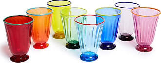 La DoubleJ Rainbow Glasses set of 8