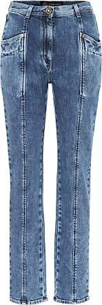 Versace High-Rise Straight Jeans