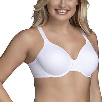 Vanity Fair Womens Beauty Back Full Figure Underwire Bra 76380, Star White, 40C