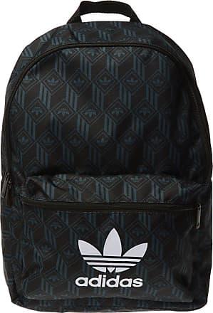 adidas Patterned Backpack Mens Black
