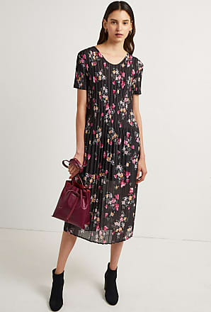 7f2dda90a871 French Connection Florence Printed Plisse Jersey Midi Dress