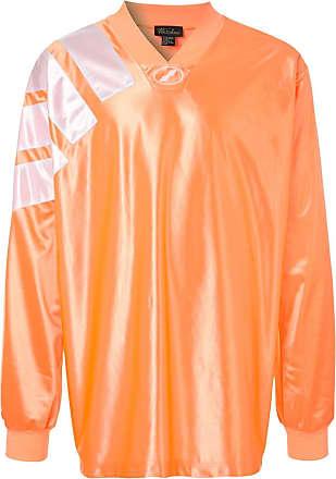We11done Oversized-Oberteil - Orange