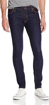 Nudie Jeans Mens Skinny Lin Rinse Selvage Str