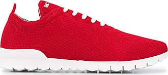 Kiton Sneakers mit Logo - Rot