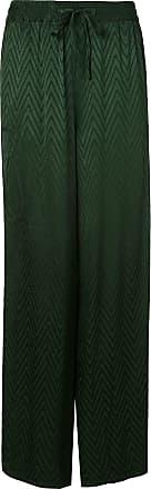Onia chloe wide trousers - Green