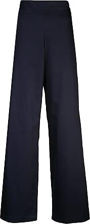 Rosie Assoulin Calça flare cintura alta - Azul