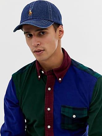 5a593929eddbb Polo Ralph Lauren baseball cap with polo player in dark wash denim blue