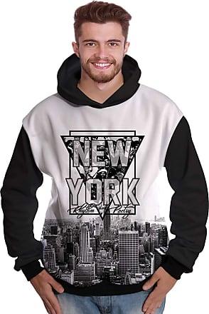 Di Nuevo Blusa de Moletom New York Rappers Hip Hop NY Exclusiva