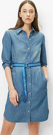 8cd397b07ed Marc O Polo Robe en jean light drapy cotton denim