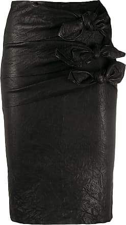 Zadig & Voltaire leather pencil skirt - Black