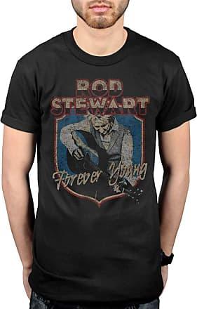 AWDIP Official Rod Stewart Forever Crest T-Shirt Black