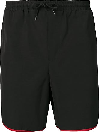 aecc6dd116 Gucci contrasting trim swim shorts - Black