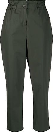 Aspesi Calça cropped - Verde