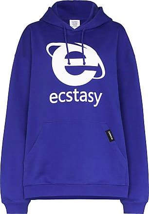 VETEMENTS Moletom Ecstasy - Azul