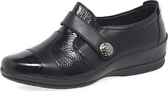 Padders Endure Womens Multi Panel Wide Fit Casual Shoes 5.5 UK/ 39 EU Black Combi
