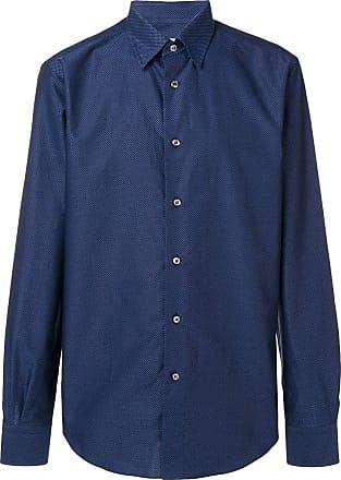 Brioni Camisa estampada - Azul