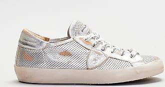 Philippe Model Philippe model - sneaker traforata - argento