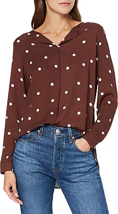 Vila Womens Vilucy L/s Shirt - Fav Lux Blouse, Multicolour (Puce AOP: Pretty), 14 (Size: Large)