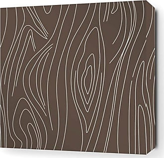 Inhabit Madera Canvas Wall Art Chocolate - MDC_1616C
