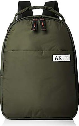 A|X Armani Exchange Armani Exchange Mens Nylon Backpack, grey climbing Ivy, ONE SIZE