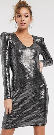 Pimkie Midi-jurk met lovertjes in zilver