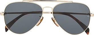 David Beckham Óculos de sol aviador DB 1004 - Dourado