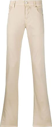 Jacob Cohen Beige stretch cotton trousers