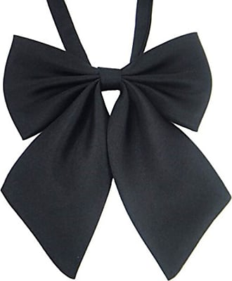 QIYUN.Z JK Uniforms Cosplay Solid Color Student Girls Fashion Bow Tie Bowknot Neckties