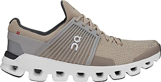 On On Running Mens Cloudswift Mesh Sand Grey Trainers 8.5 UK