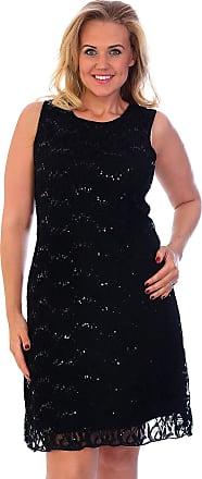 Nouvelle Collection Flapper Lace Dress Black 24-26