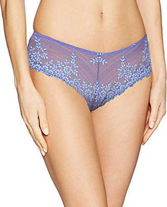 Wacoal Womens Embrace Lace Tanga Panty, Twilight Purple/Hydrangea, M