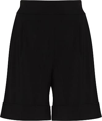 USISI SISTER Short cintura alta com barra dobrada - Preto