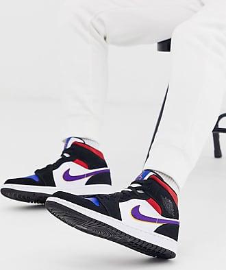 Nike Jordan Nike Air Jordan 1 Mid SE Lakers Top 3 trainers 852542-005-Multi