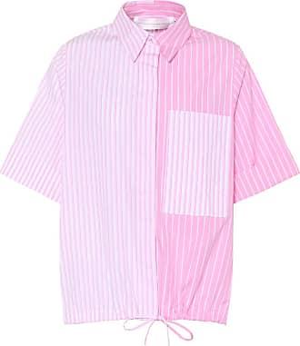 Victoria Beckham Striped cotton top