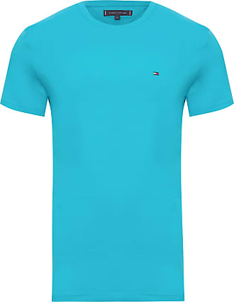 Tommy Hilfiger T-SHIRT MASCULINA WCC ESSENTIAL COTTON - AZUL